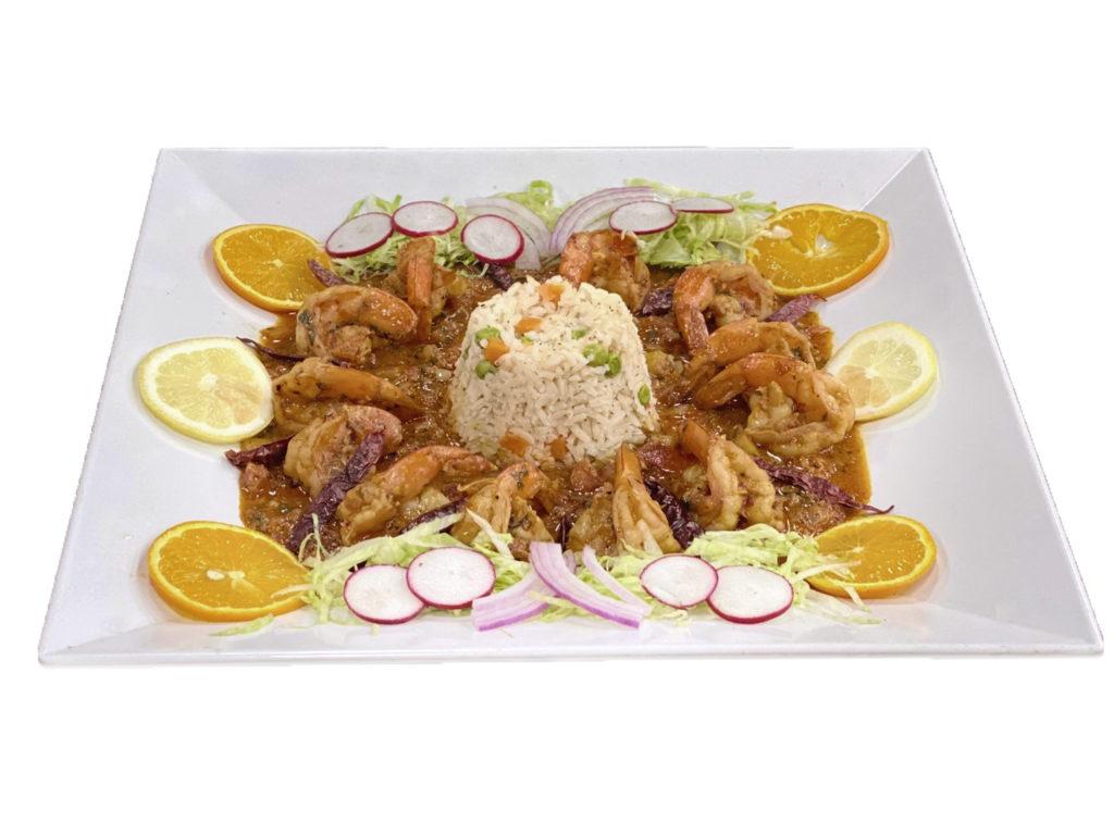 Cooked Shrimp Diablo